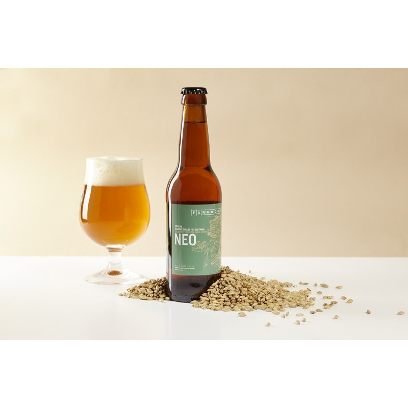 Notre première bière