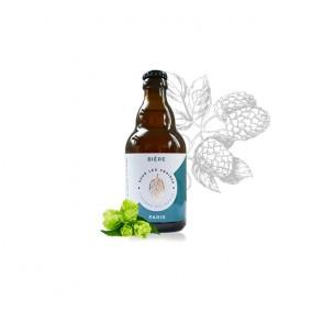 Bière blanche polaire