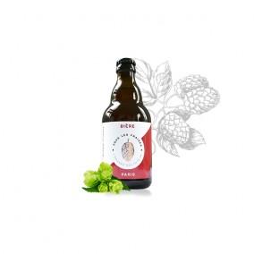 Bière blonde florale